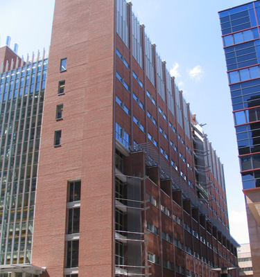 University of Maryland, Baltimore MD New Dental School Building